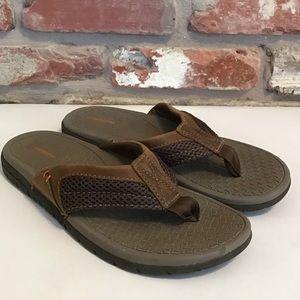 GOTCHA Men's Flip Flops Brown